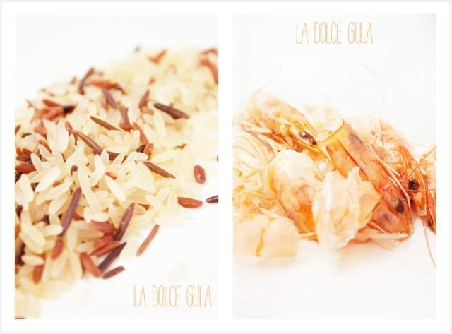 © La Dolce Gula-Picreceta LDG-Melon and Prawn Rice Salad ©