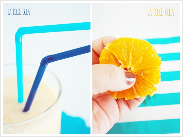 © La Dolce Gula Orange And Melon Smoothie ©