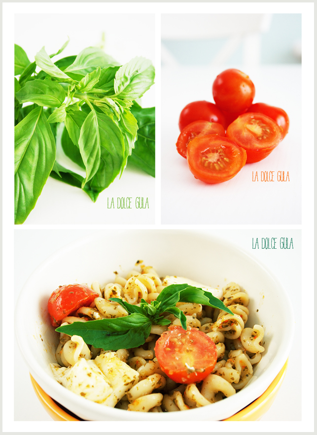 © La Dolce Gula Caprese Pasta Salad ©