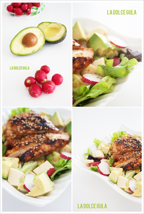 © La Dolce Gula Avocado And BBQ'S Salad©