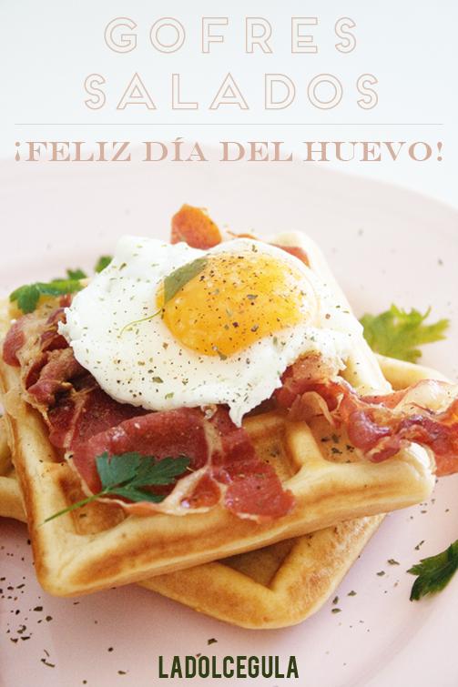 © La Dolce Gula Gofres Salados Con Huevo©