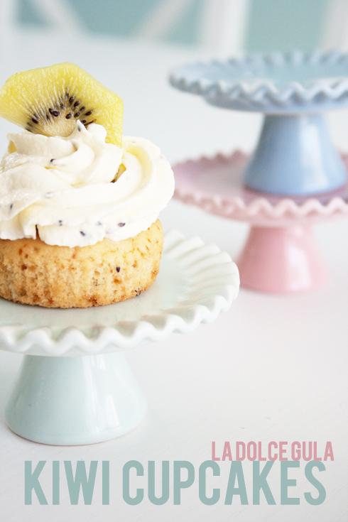 © La Dolce Gula Kiwi Cupcakes©