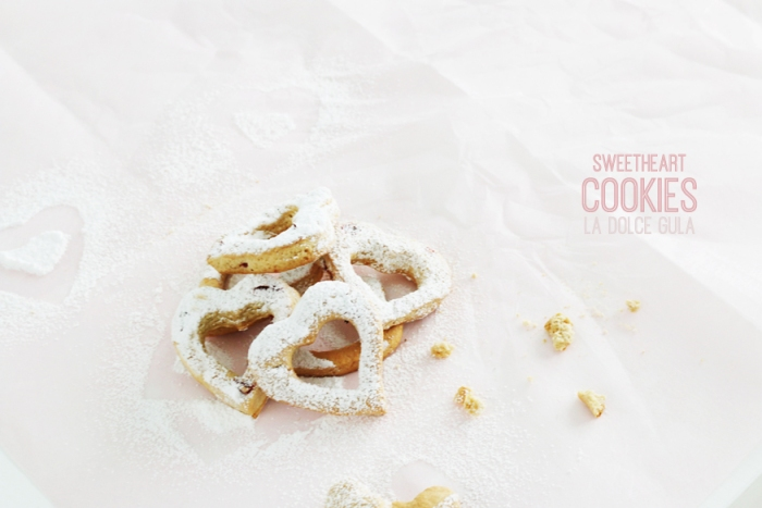 © La Dolce Gula Sweetheart Cookies ©