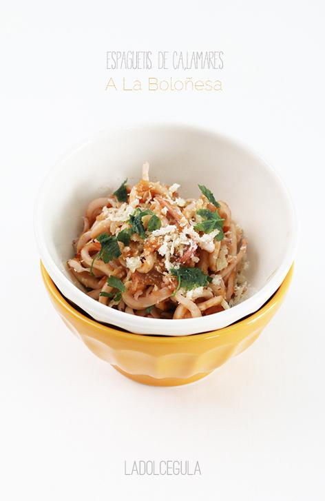 La Dolce Gula - Espaghettis De Calamar A La Bolonesa (Copyright) 02
