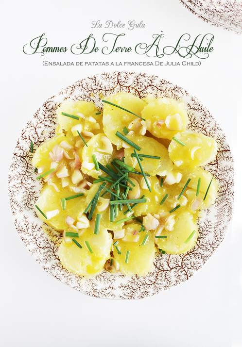 La Dolce Gula - Ensalada De Patatas Francesa Julia Child 02