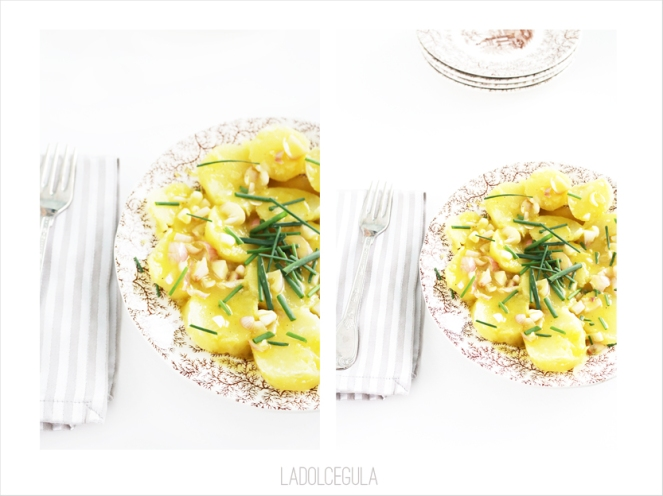 La Dolce Gula - Ensalada De Patatas Francesa Julia Child