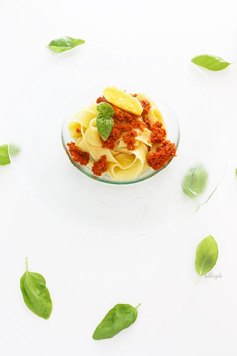 La Dolce Gula - Pappardelle Con Pesto Rojo 03