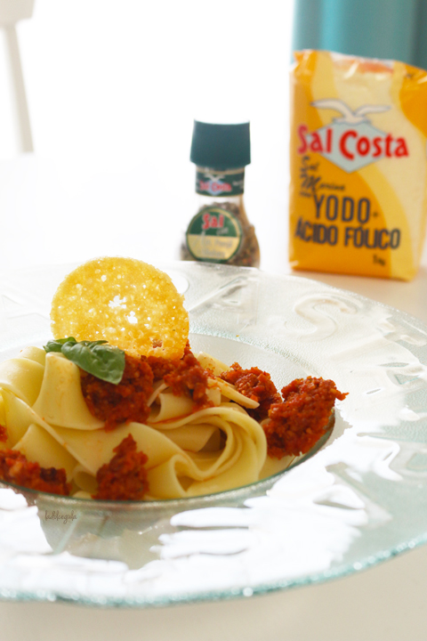La Dolce Gula - Pappardelle Con Pesto Rojo