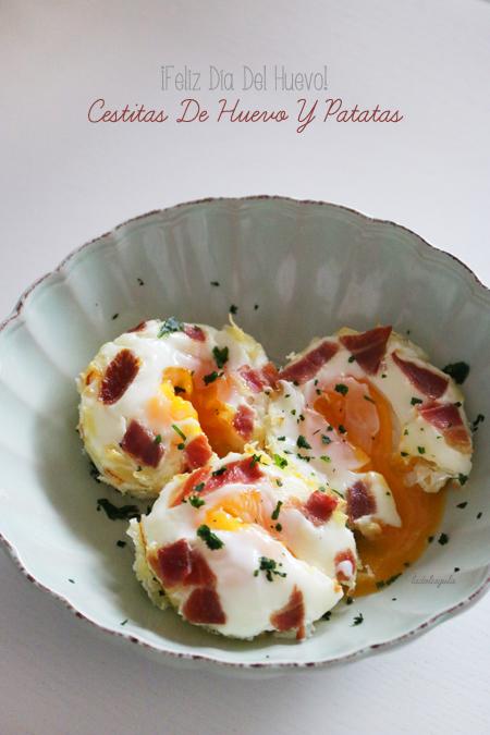 La Dolce Gula - Cestitas de huevo y patata