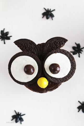 La Dolce Gula Owl Cupcakes 01