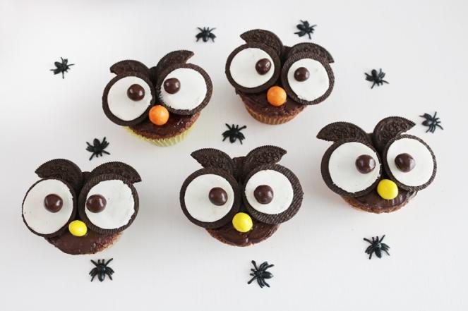 La Dolce Gula Owl Cupcakes 03