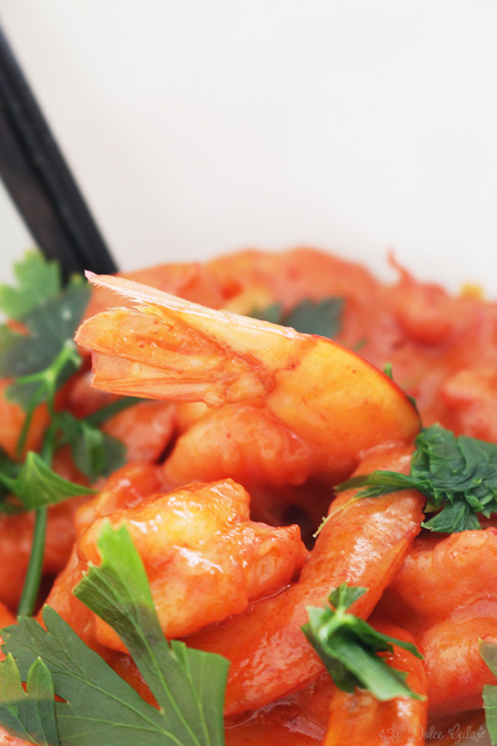 La Dolce Gula - Curry Rojo Thai Langostinos 2