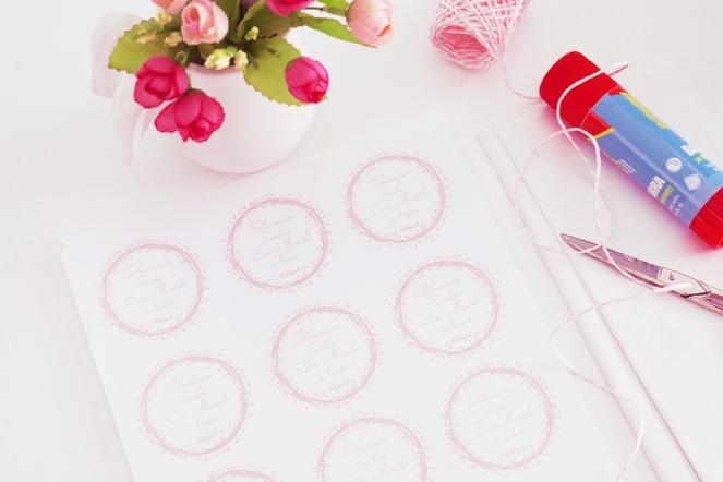 La Dolce Gula DIY Etiquetas Polvorones 1