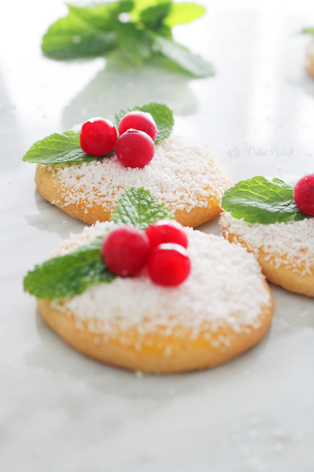 La Dolce Gula - Holly Cookies 1