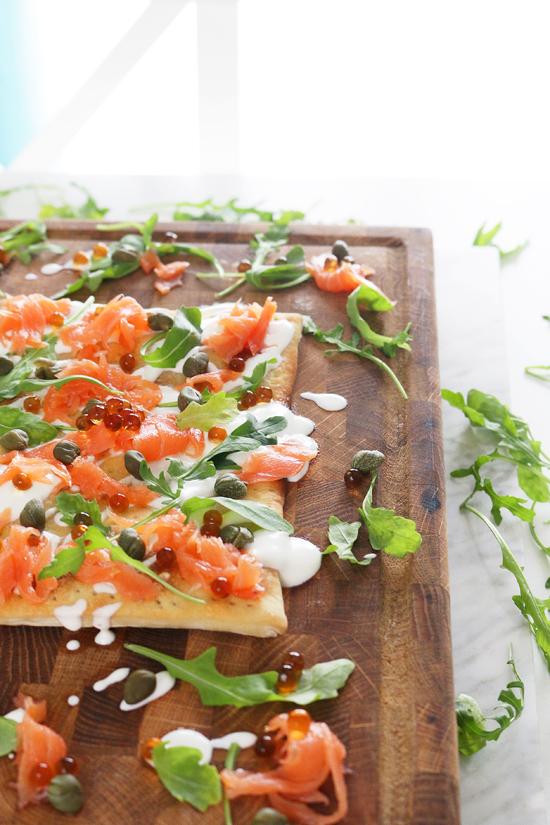 La Dolce Gula - Tosta Salmon y Rucula 4