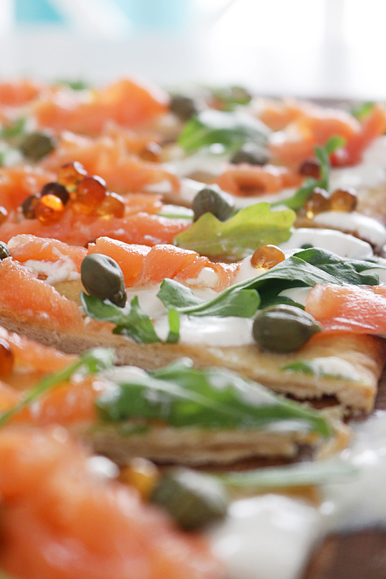 La Dolce Gula - Tosta Salmon y Rucula