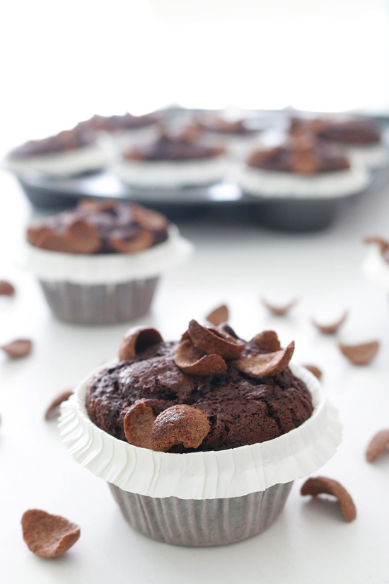 La Dolce Gula - Muffins de Chocapic 3