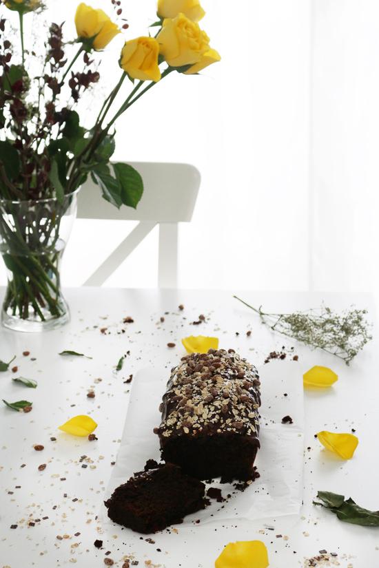 La Dolce Gula - Plum Cake de Chocolate y Muesli 8