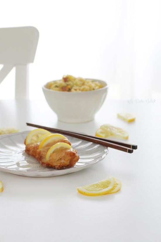 La Dolce Gula - Pollo Al Limon Estilo Chino 2