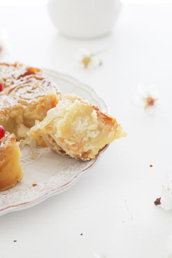 La Dolce Gula - Ruffle Milk Pie
