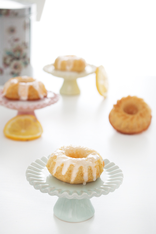 La Dolce Gula - Mini Lemon Bundt Cakes 2