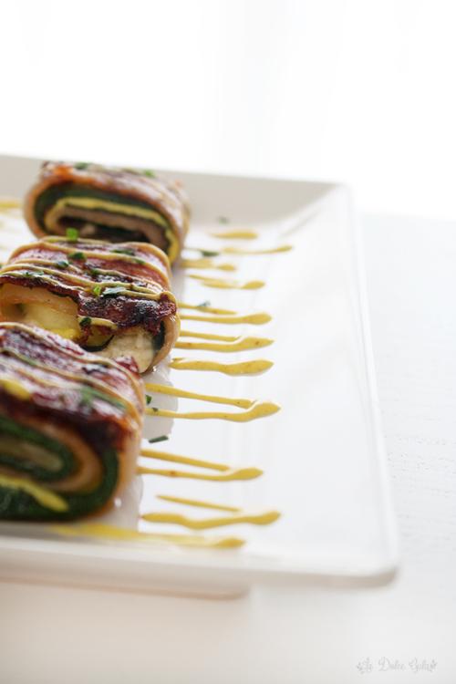 La Dolce Gula - Zucchini & Bacon Rolls 3