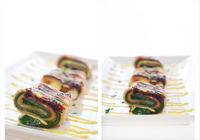 La Dolce Gula - Zucchini & Bacon Rolls