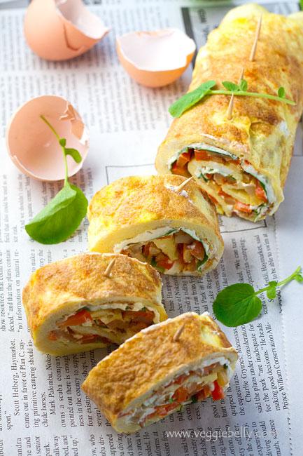 omeletter-roulade