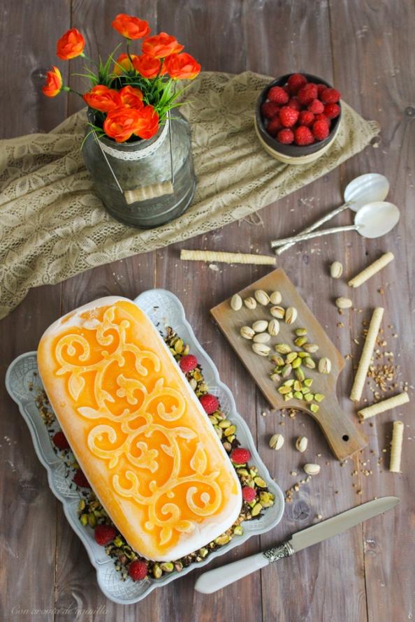 Semifreddo yogur y mango 4