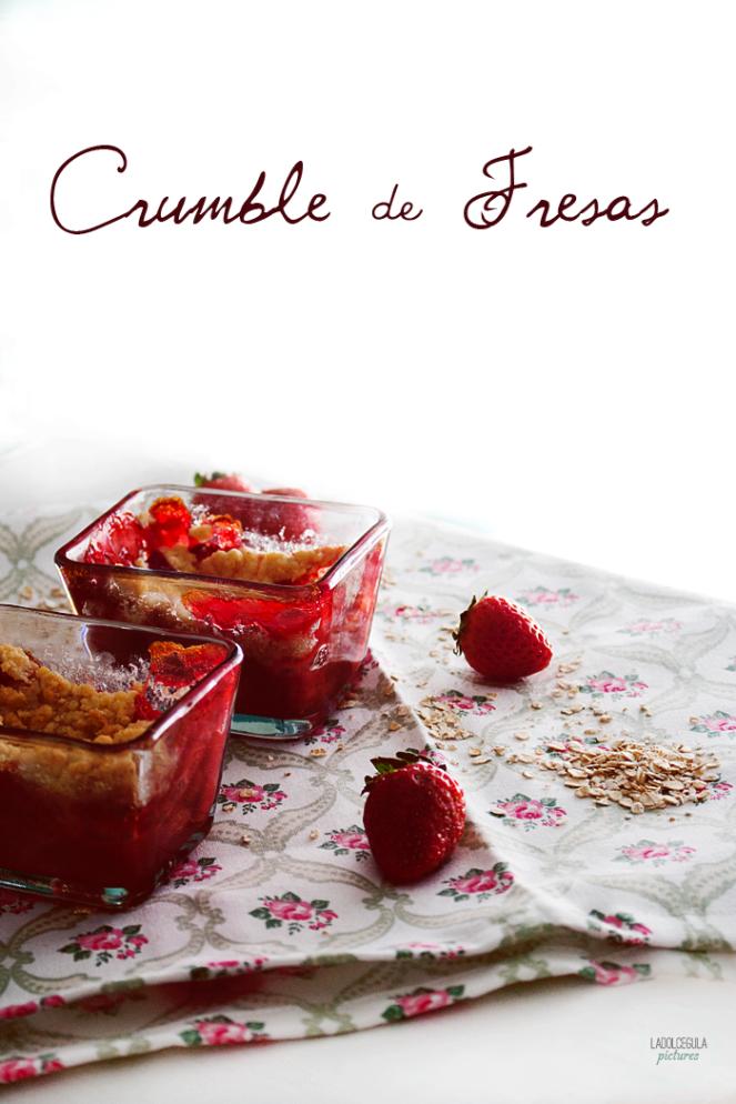 Crumble-Fresas