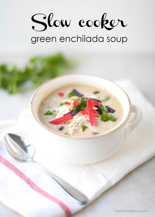 Slow-cooker-green-enchilada-soup