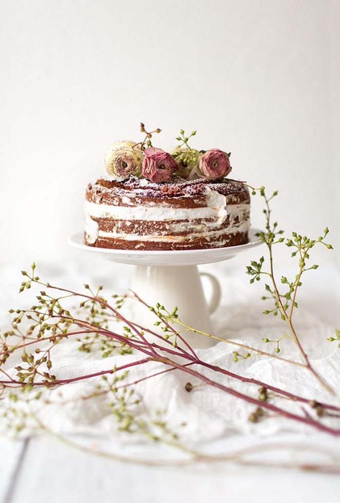 champagne-cake
