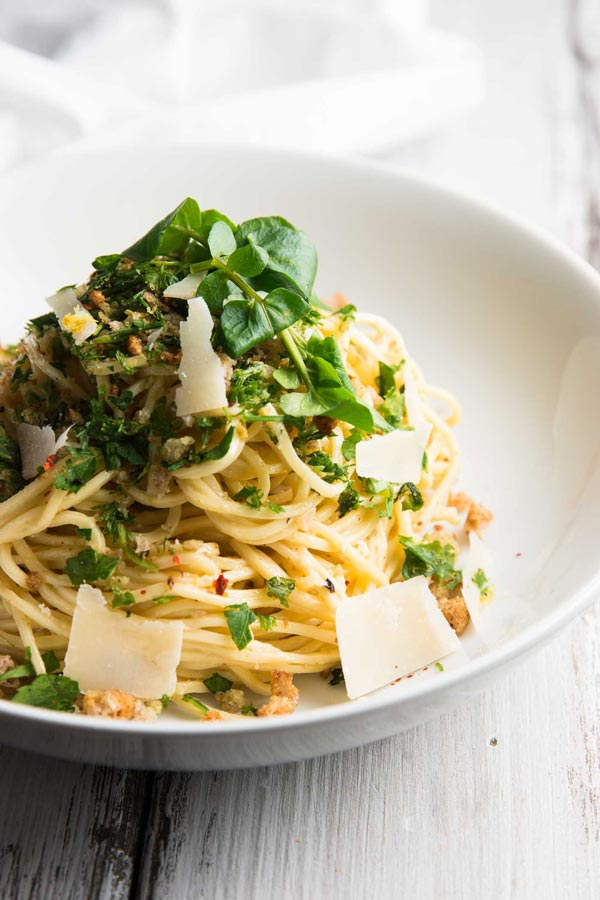 Garlic-Butter-White-Wine-Pasta